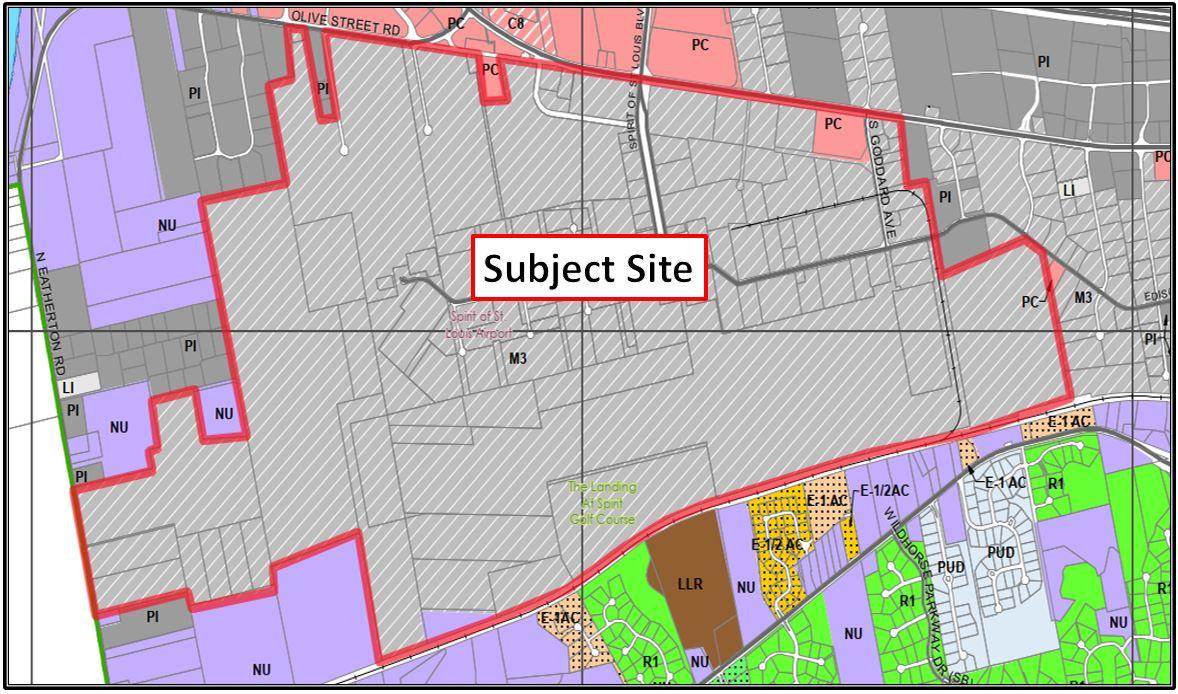P.Z. 10-2021 Ordinance 1430 (City of Chesterfield)