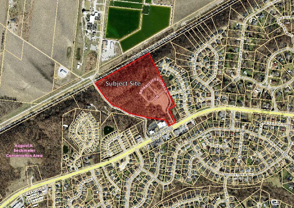 P.Z. 19-2019 Briarcliffe Villas (13987 & 14001 Olive Blvd) PEU Repeal