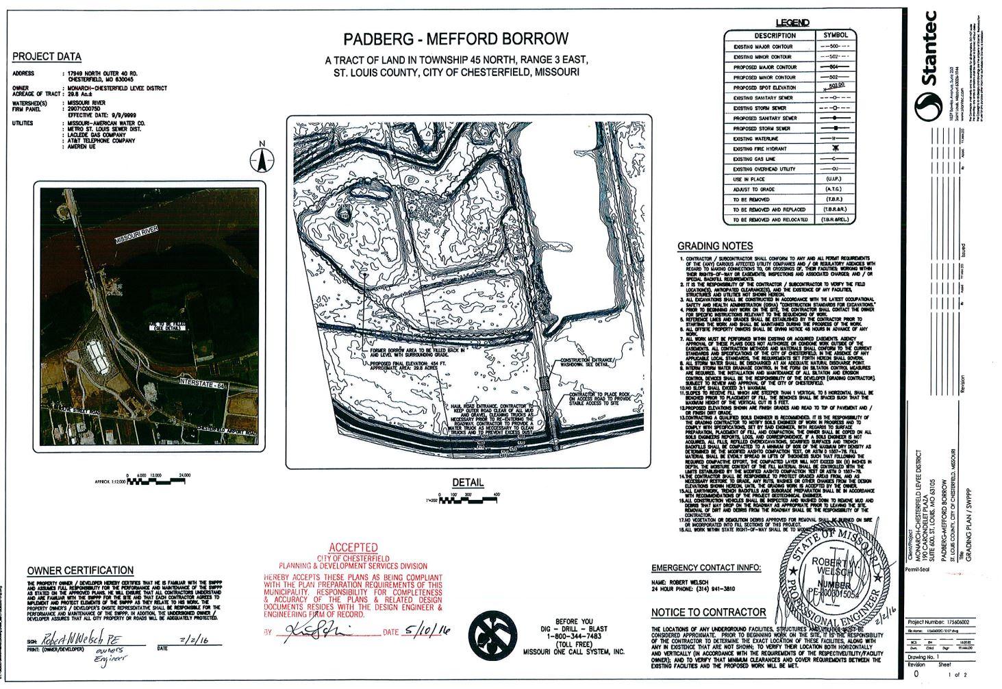 Padberg-Mefford Borrow Site