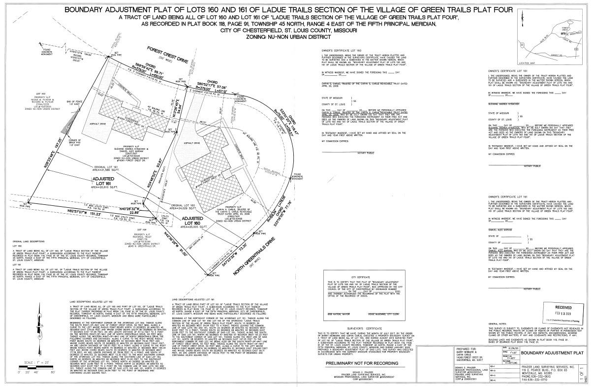 Ladue Trails (Lots 160 & 161)